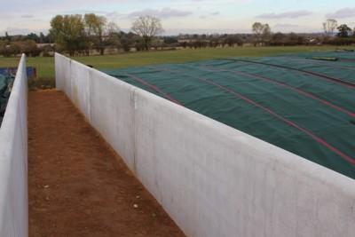 Concrete Agri walls at Maidstone Plant