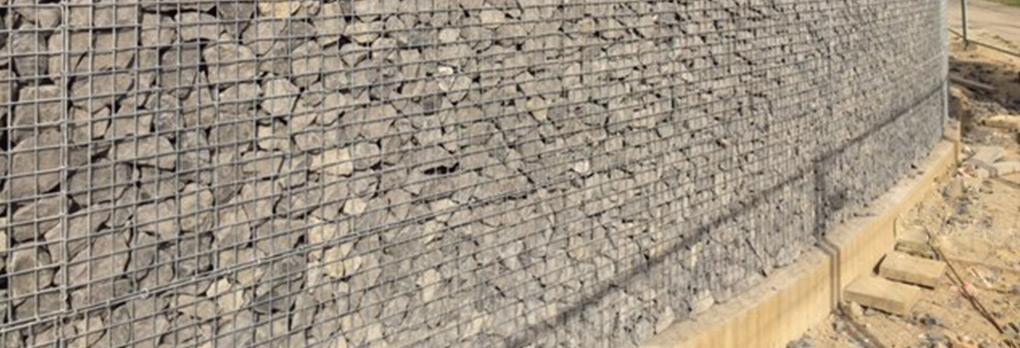 Stone Box gabion wall