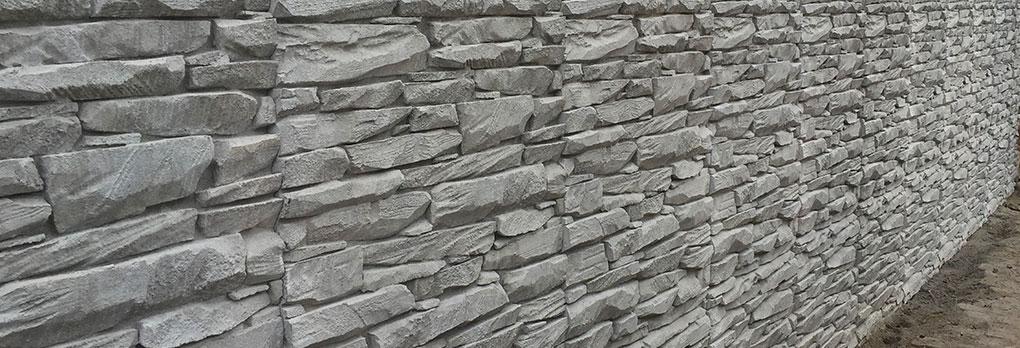 Reckli decorative concrete cbs retaining walls for Cbs concrete