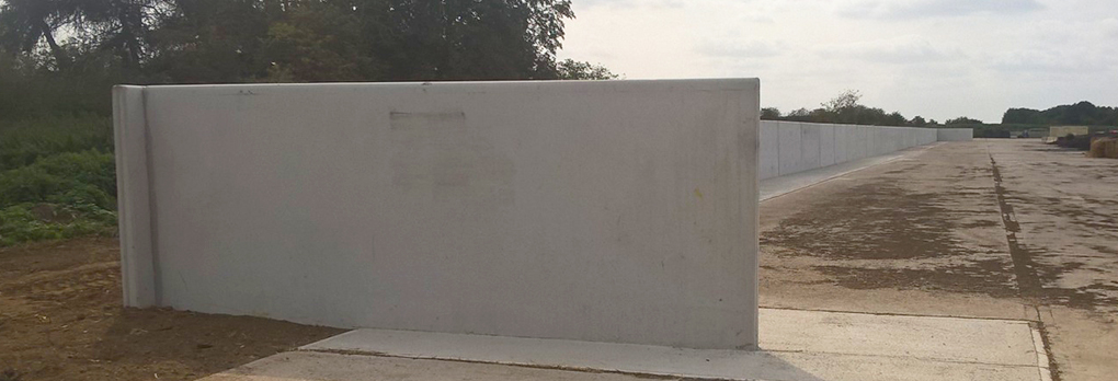 L-ShapedPrecast Concrete Retaining Wall